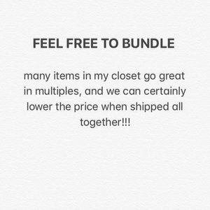 Other - Please Bundle and/or Make Offers!